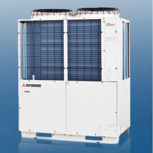 三菱重工商用CO₂冷媒空气源热泵热水机Q-TON