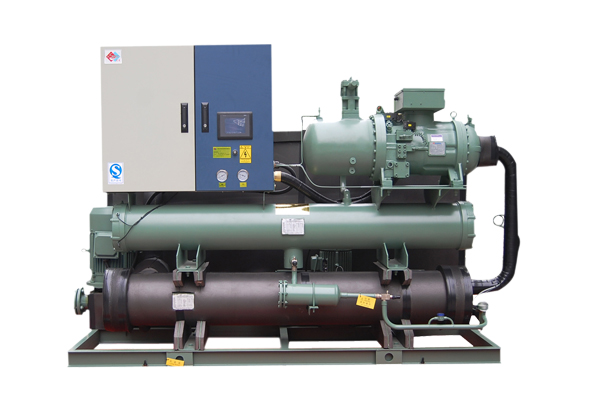无锡厂房中央空调工业专用螺杆式水冷工业机组4