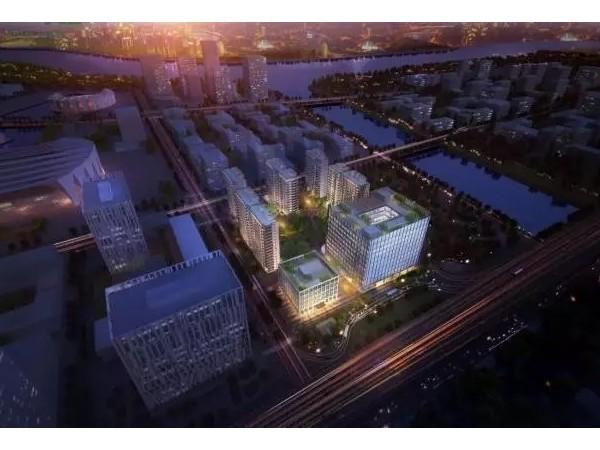 EK助力上海前滩中粮壹号公馆办公楼