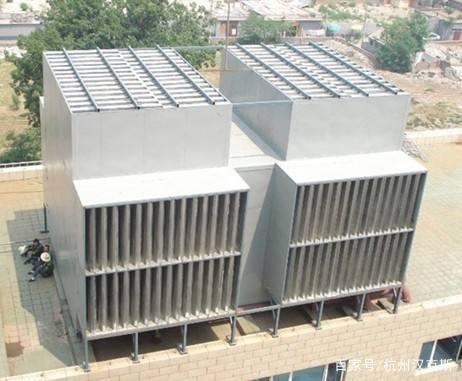 无锡中央空调冷却塔噪音大的治理方法