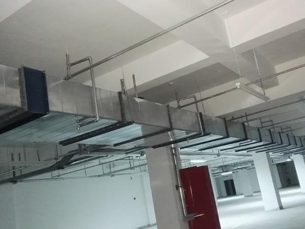 无锡车间工厂厂房风管排风工程现场0
