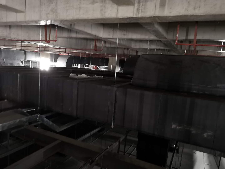 无锡科能中央空调施工现场.jpg
